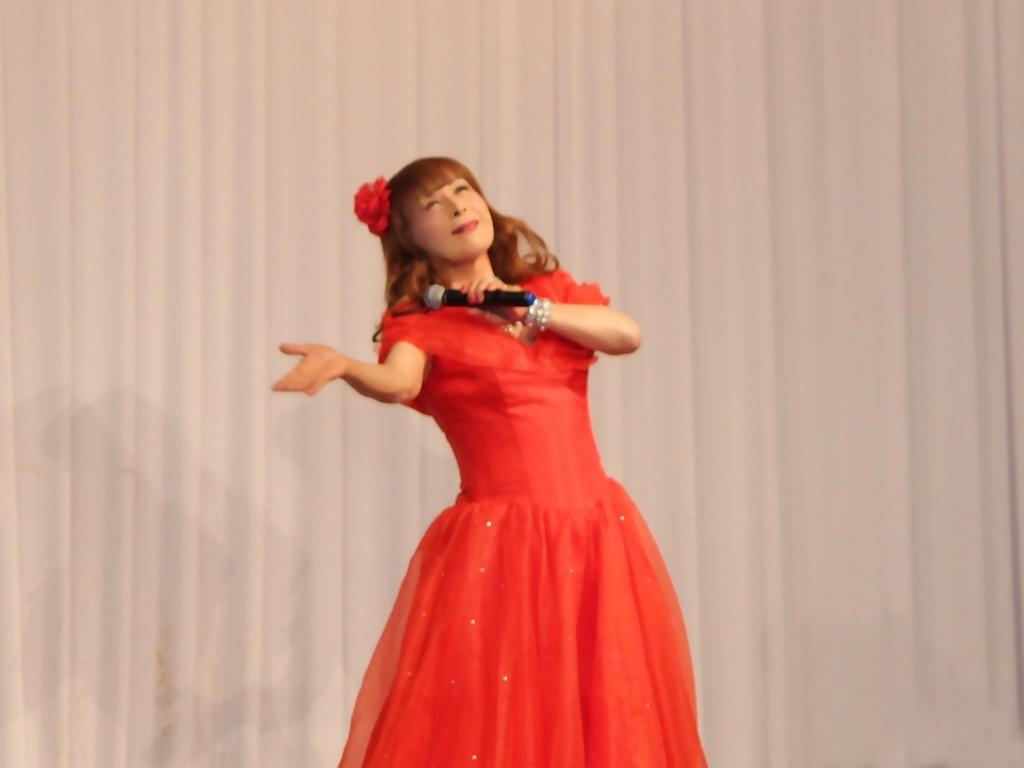 赤ドレス舞台A(8)