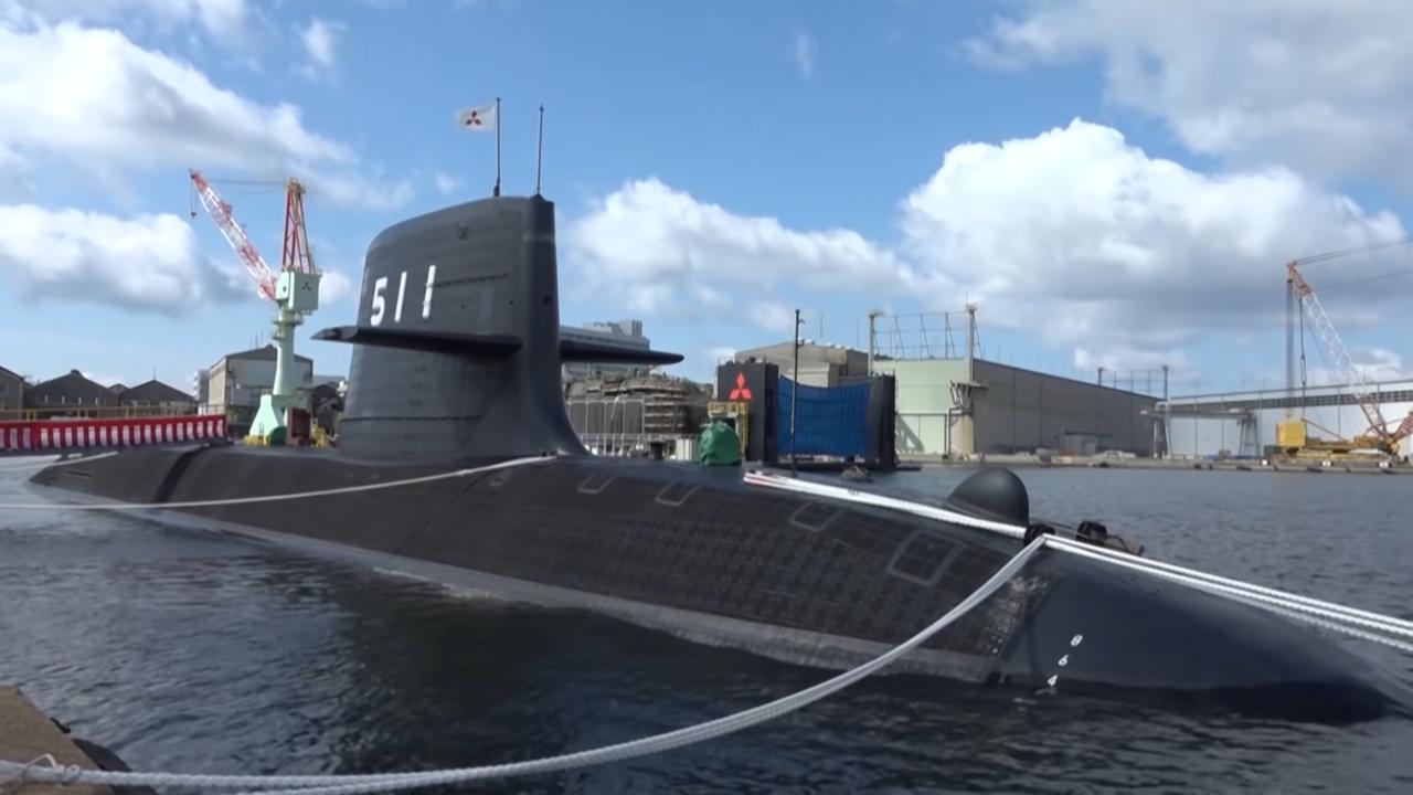 おうりゅう型潜水艦
