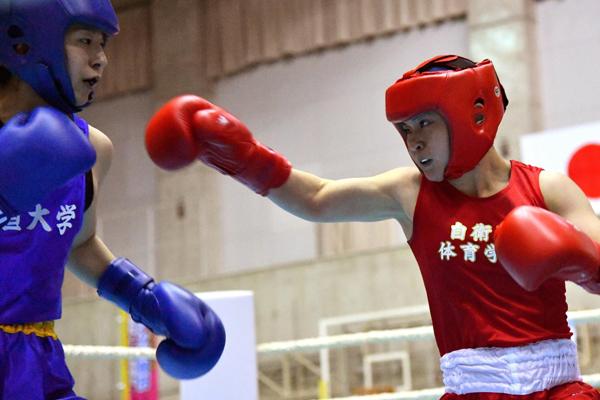 ボクシング並木選手