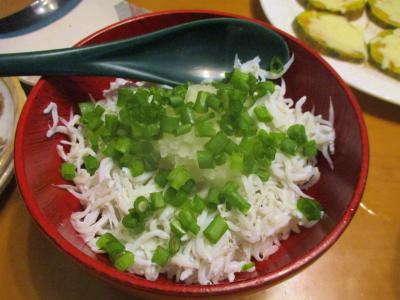 201013しらす丼
