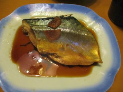 201015鯖の煮付け