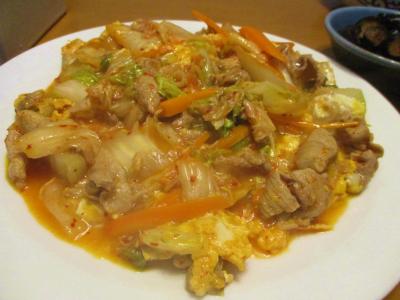 201015豚キムチ