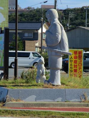 201105神話の里白ウサギ1