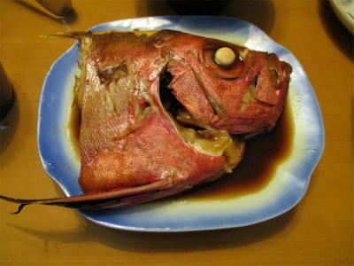 201114金目鯛の煮付け