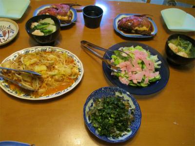 201114夕食