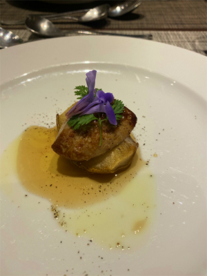 201123洋ナシとフォアグラの前菜