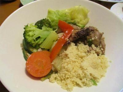 201205鶏と野菜の煮込みとグルグル