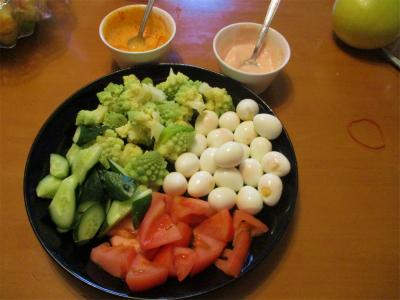 201231野菜盛り合わせ