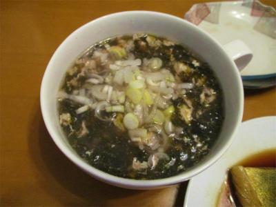 210110海苔と卵のスープ