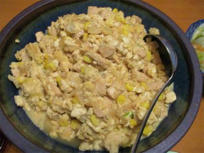 210126炒り豆腐