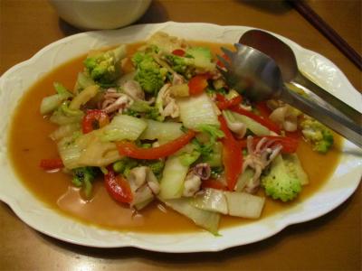 210209色々野菜のエスニック炒め