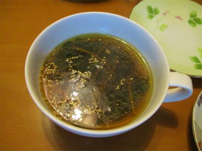 210321ワカメと人参のスープ