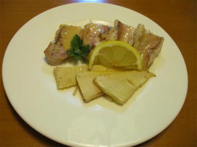 210417甘鯛のレモンバター焼