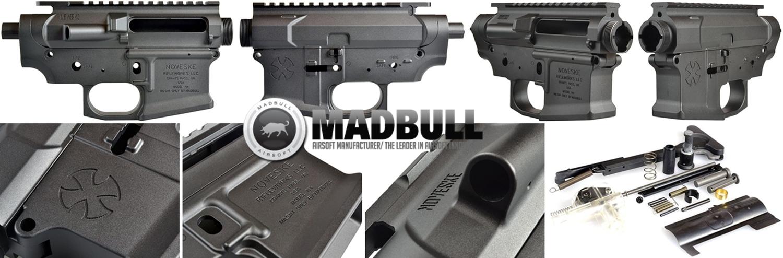 PR1 NOVESKE GEN3 N4 BY MADBULL!! 『第一弾』 新たにSTD民間系ARを作り始めたいと思います!! STD AR-15 M4 スタンダード 電動ガン マルイ ノベスケ ノベスキー マットブル メタルフレーム 動作テスト 組込 取付 カ
