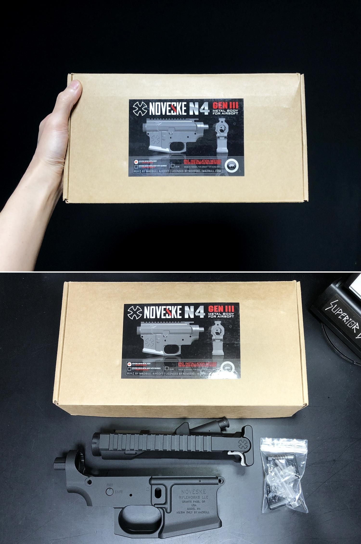 1 NOVESKE GEN3 N4 BY MADBULL!! 『第一弾』 新たにSTD民間系ARを作り始めたいと思います!! STD AR-15 M4 スタンダード 電動ガン マルイ ノベスケ ノベスキー マットブル メタルフレーム 動作テスト 組込 取付 カス