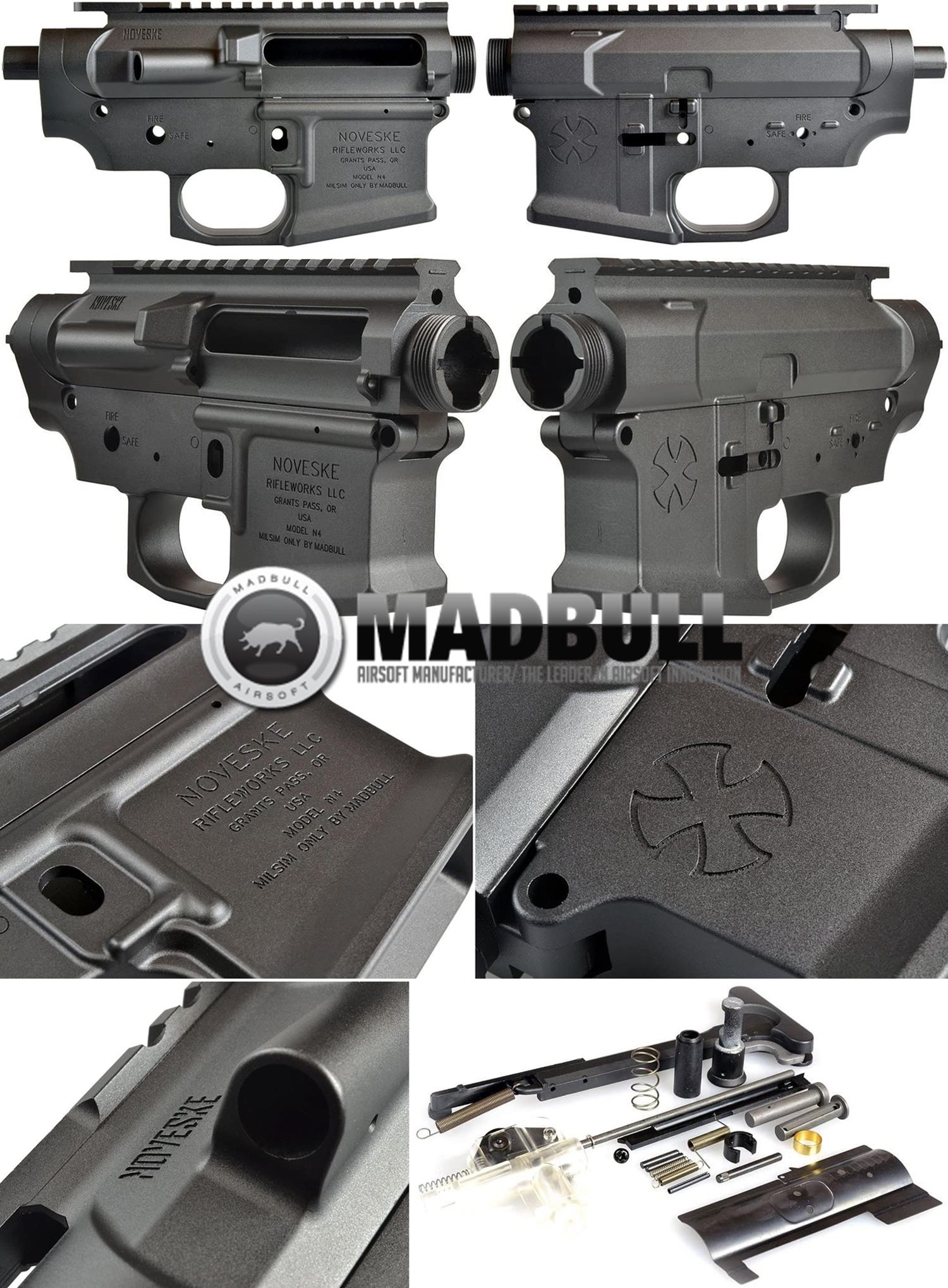 00 NOVESKE GEN3 N4 BY MADBULL!! 『第一弾』 新たにSTD民間系ARを作り始めたいと思います!! STD AR-15 M4 スタンダード 電動ガン マルイ ノベスケ ノベスキー マットブル メタルフレーム 動作テスト 組込 取付 カス