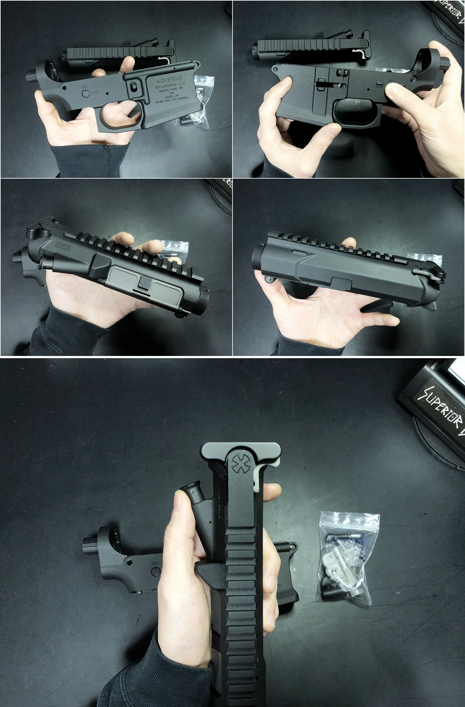 2 NOVESKE GEN3 N4 BY MADBULL!! 『第一弾』 新たにSTD民間系ARを作り始めたいと思います!! STD AR-15 M4 スタンダード 電動ガン マルイ ノベスケ ノベスキー マットブル メタルフレーム 動作テスト 組込 取付 カス