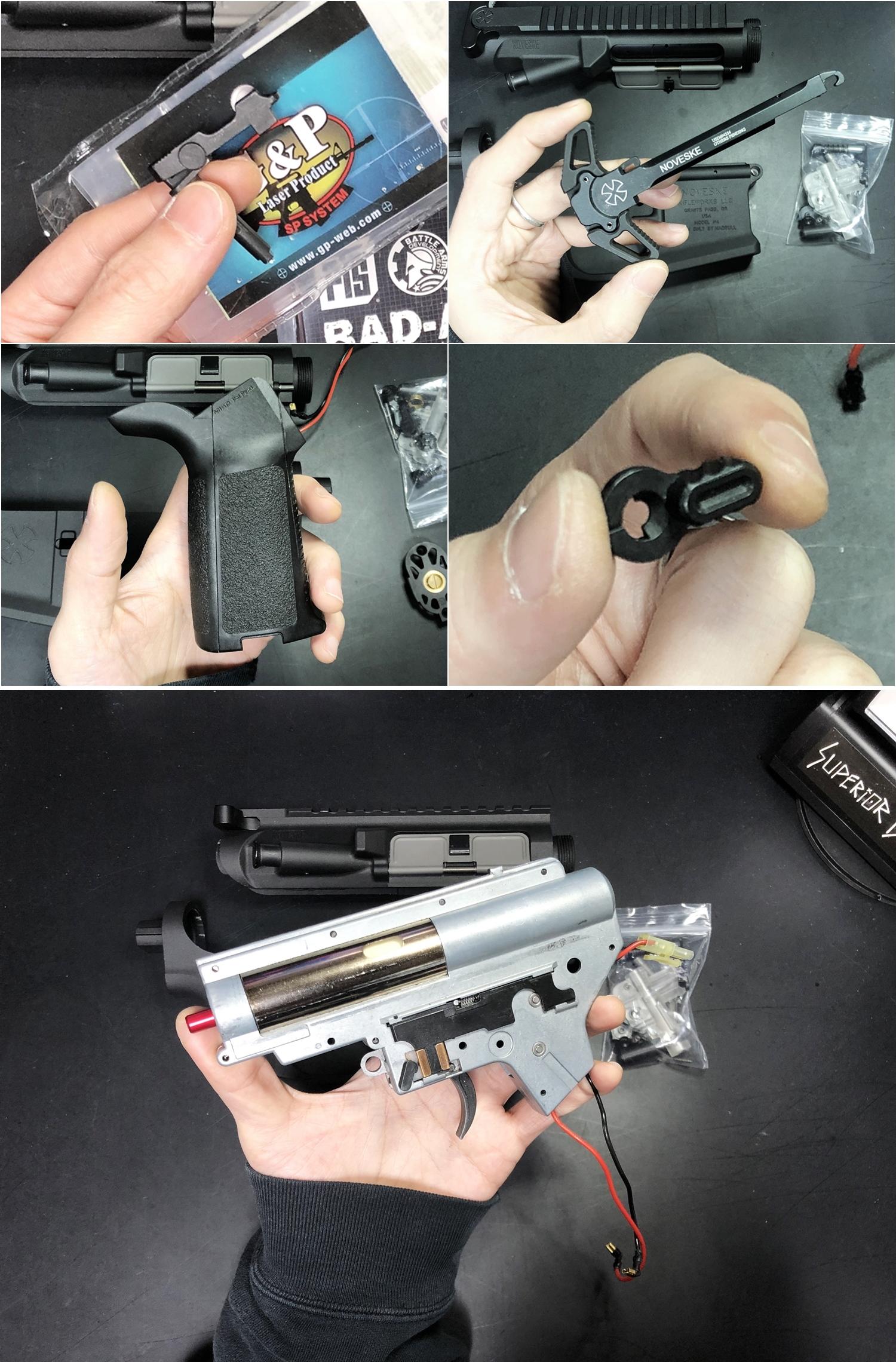 4 NOVESKE GEN3 N4 BY MADBULL!! 『第一弾』 新たにSTD民間系ARを作り始めたいと思います!! STD AR-15 M4 スタンダード 電動ガン マルイ ノベスケ ノベスキー マットブル メタルフレーム 動作テスト 組込 取付 カス