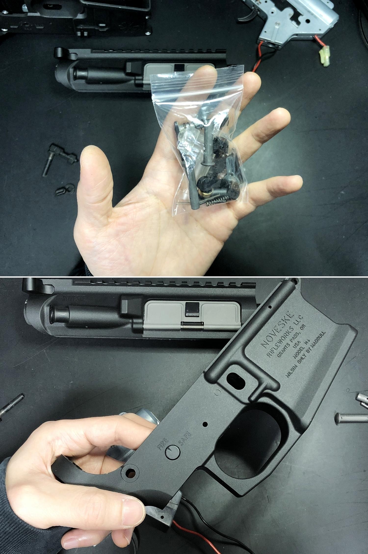 6 NOVESKE GEN3 N4 BY MADBULL!! 『第一弾』 新たにSTD民間系ARを作り始めたいと思います!! STD AR-15 M4 スタンダード 電動ガン マルイ ノベスケ ノベスキー マットブル メタルフレーム 動作テスト 組込 取付 カス