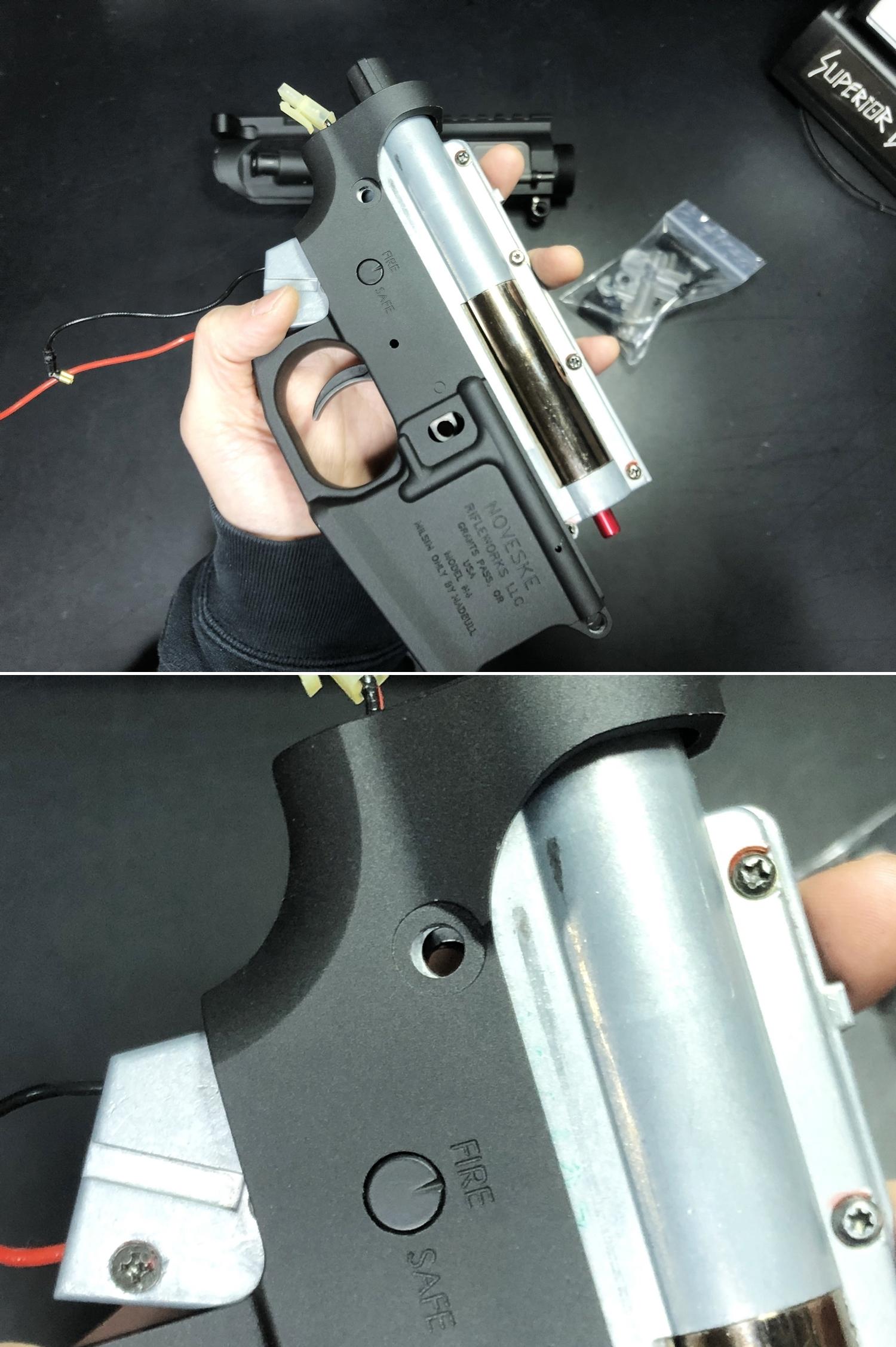 7 NOVESKE GEN3 N4 BY MADBULL!! 『第一弾』 新たにSTD民間系ARを作り始めたいと思います!! STD AR-15 M4 スタンダード 電動ガン マルイ ノベスケ ノベスキー マットブル メタルフレーム 動作テスト 組込 取付 カス