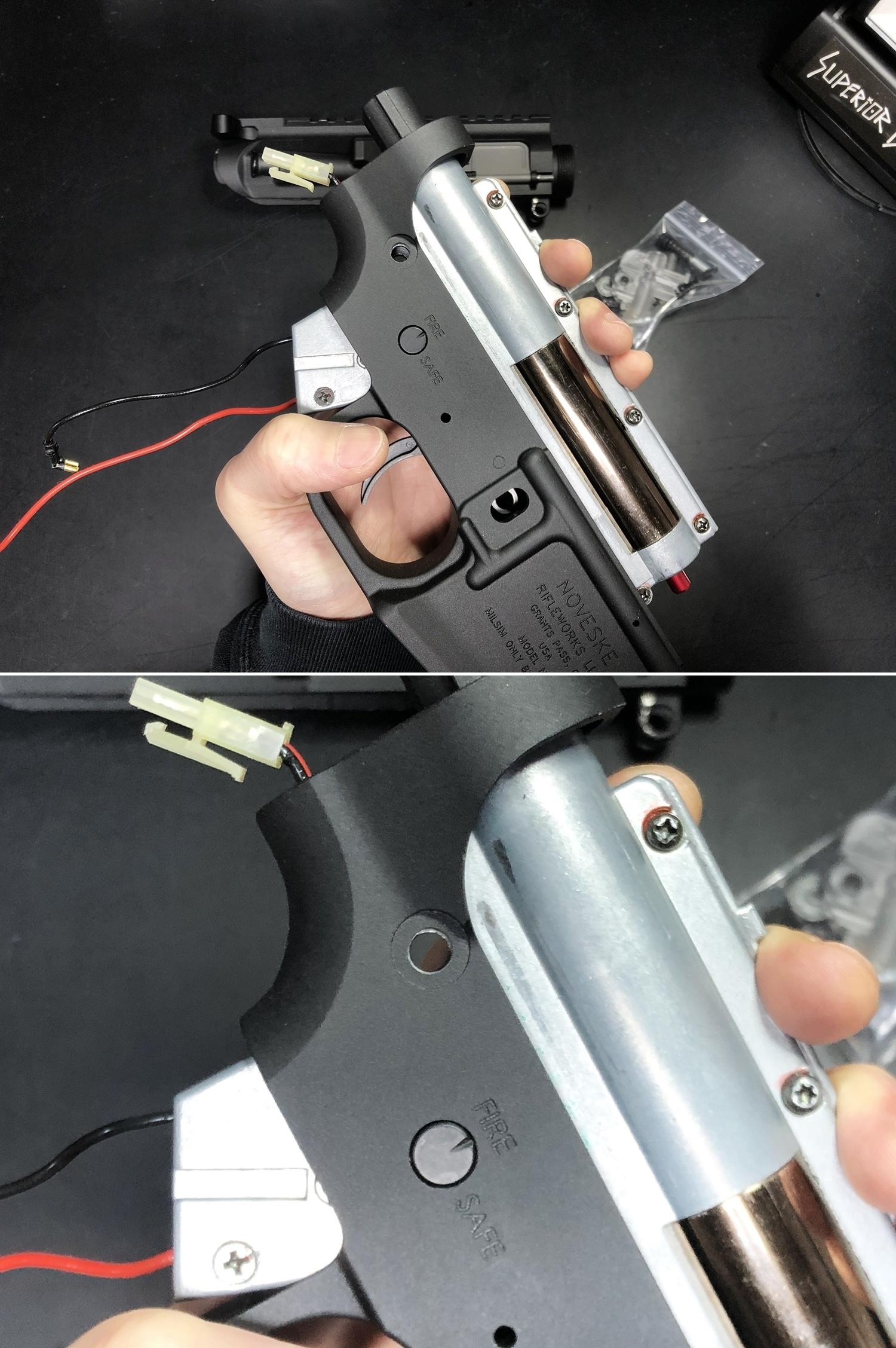 9 NOVESKE GEN3 N4 BY MADBULL!! 『第一弾』 新たにSTD民間系ARを作り始めたいと思います!! STD AR-15 M4 スタンダード 電動ガン マルイ ノベスケ ノベスキー マットブル メタルフレーム 動作テスト 組込 取付 カス