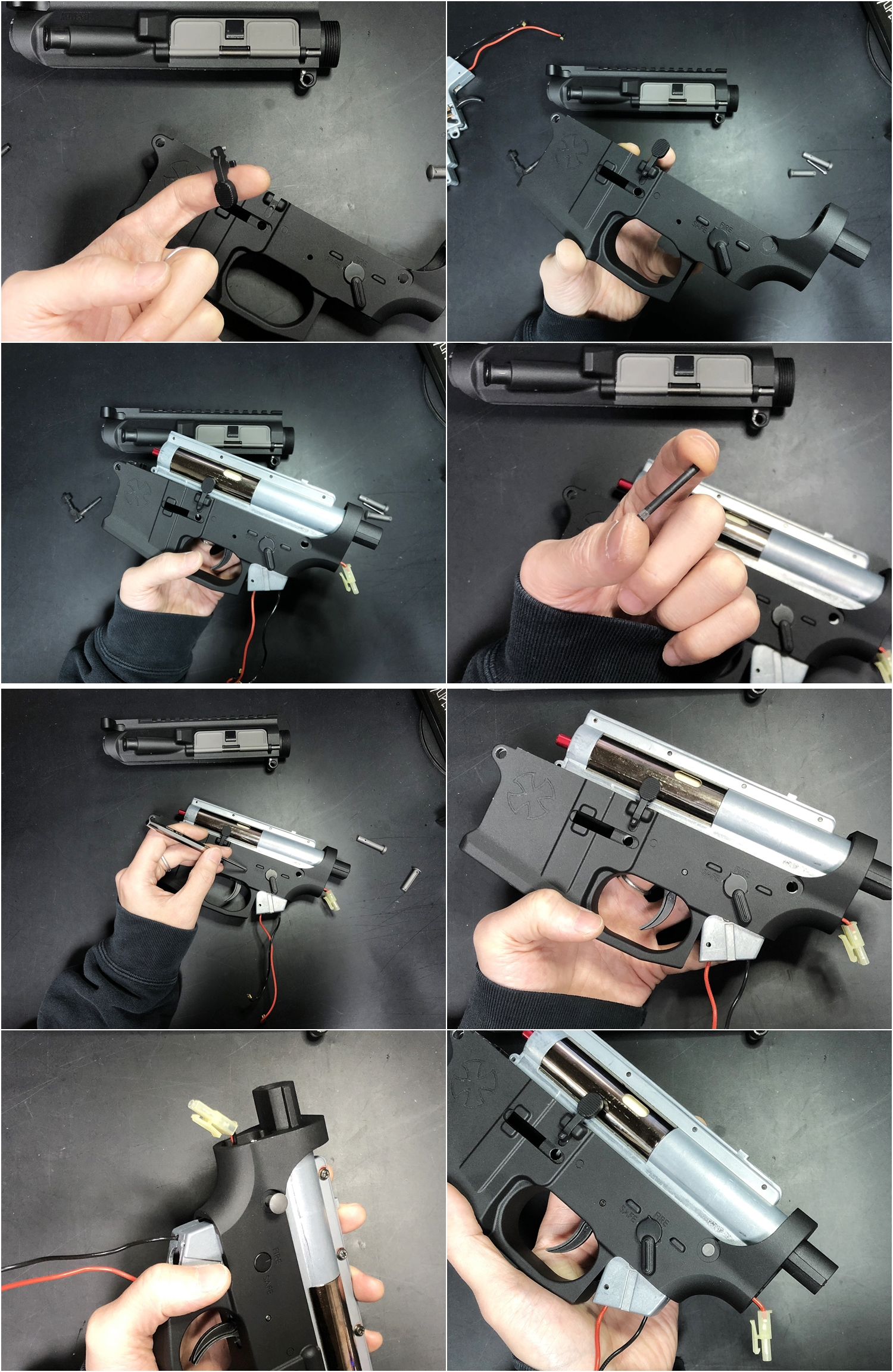 13 NOVESKE GEN3 N4 BY MADBULL!! 『第一弾』 新たにSTD民間系ARを作り始めたいと思います!! STD AR-15 M4 スタンダード 電動ガン マルイ ノベスケ ノベスキー マットブル メタルフレーム 動作テスト 組込 取付 カス