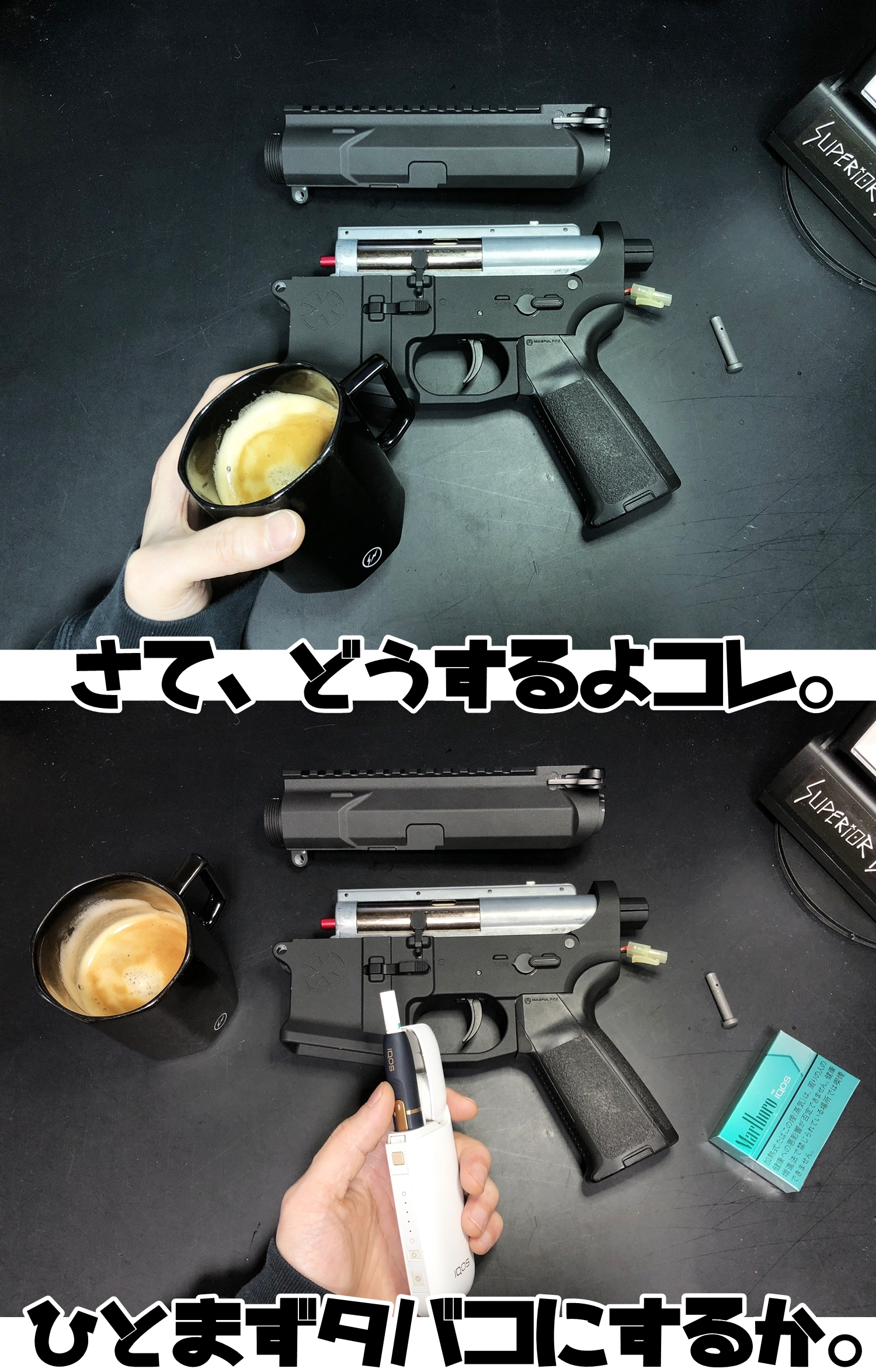 16 NOVESKE GEN3 N4 BY MADBULL!! 『第一弾』 新たにSTD民間系ARを作り始めたいと思います!! STD AR-15 M4 スタンダード 電動ガン マルイ ノベスケ ノベスキー マットブル メタルフレーム 動作テスト 組込 取付 カス
