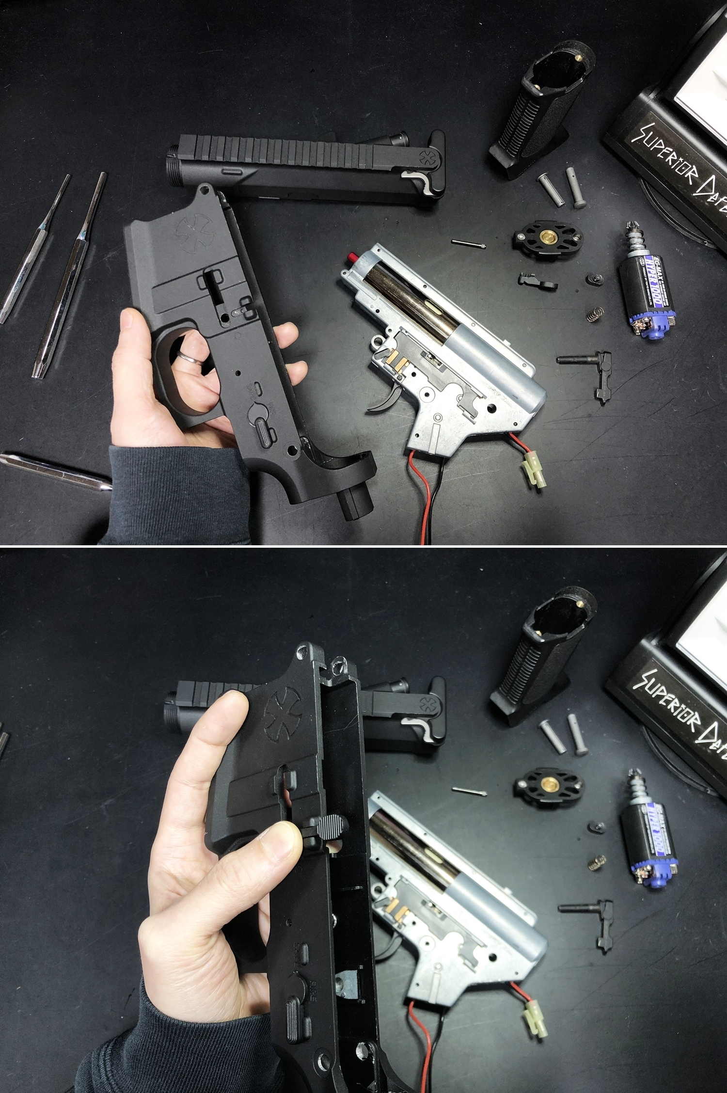 19 NOVESKE GEN3 N4 BY MADBULL!! 『第一弾』 新たにSTD民間系ARを作り始めたいと思います!! STD AR-15 M4 スタンダード 電動ガン マルイ ノベスケ ノベスキー マットブル メタルフレーム 動作テスト 組込 取付 カス