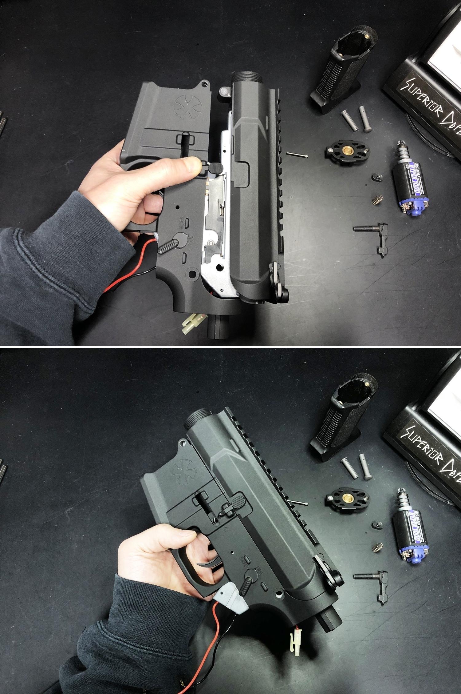 22 NOVESKE GEN3 N4 BY MADBULL!! 『第一弾』 新たにSTD民間系ARを作り始めたいと思います!! STD AR-15 M4 スタンダード 電動ガン マルイ ノベスケ ノベスキー マットブル メタルフレーム 動作テスト 組込 取付 カス