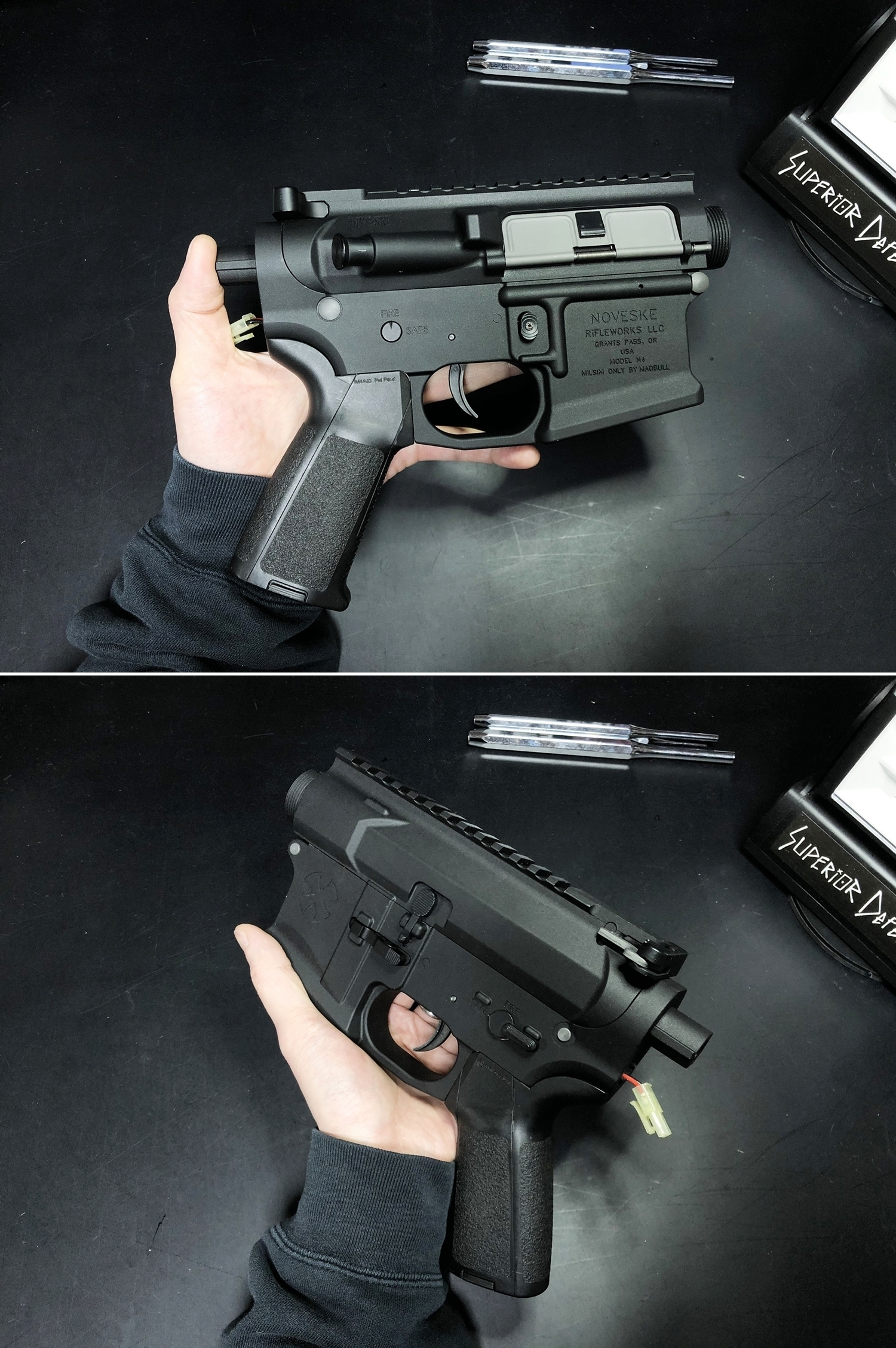 24 NOVESKE GEN3 N4 BY MADBULL!! 『第一弾』 新たにSTD民間系ARを作り始めたいと思います!! STD AR-15 M4 スタンダード 電動ガン マルイ ノベスケ ノベスキー マットブル メタルフレーム 動作テスト 組込 取付 カス