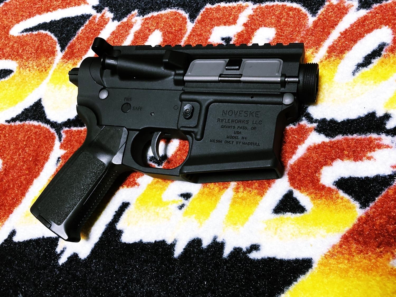 27 NOVESKE GEN3 N4 BY MADBULL!! 『第一弾』 新たにSTD民間系ARを作り始めたいと思います!! STD AR-15 M4 スタンダード 電動ガン マルイ ノベスケ ノベスキー マットブル メタルフレーム 動作テスト 組込 取付 カス