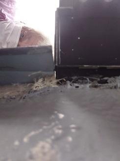 防水隙間雨漏り調査ベランダ