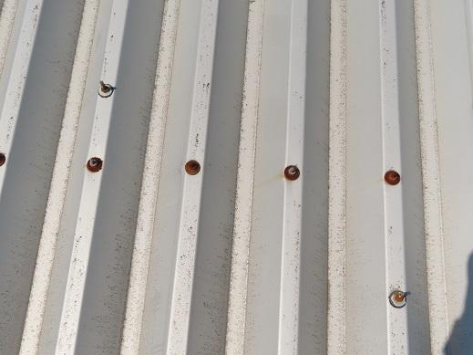 折板ボルトサビ横