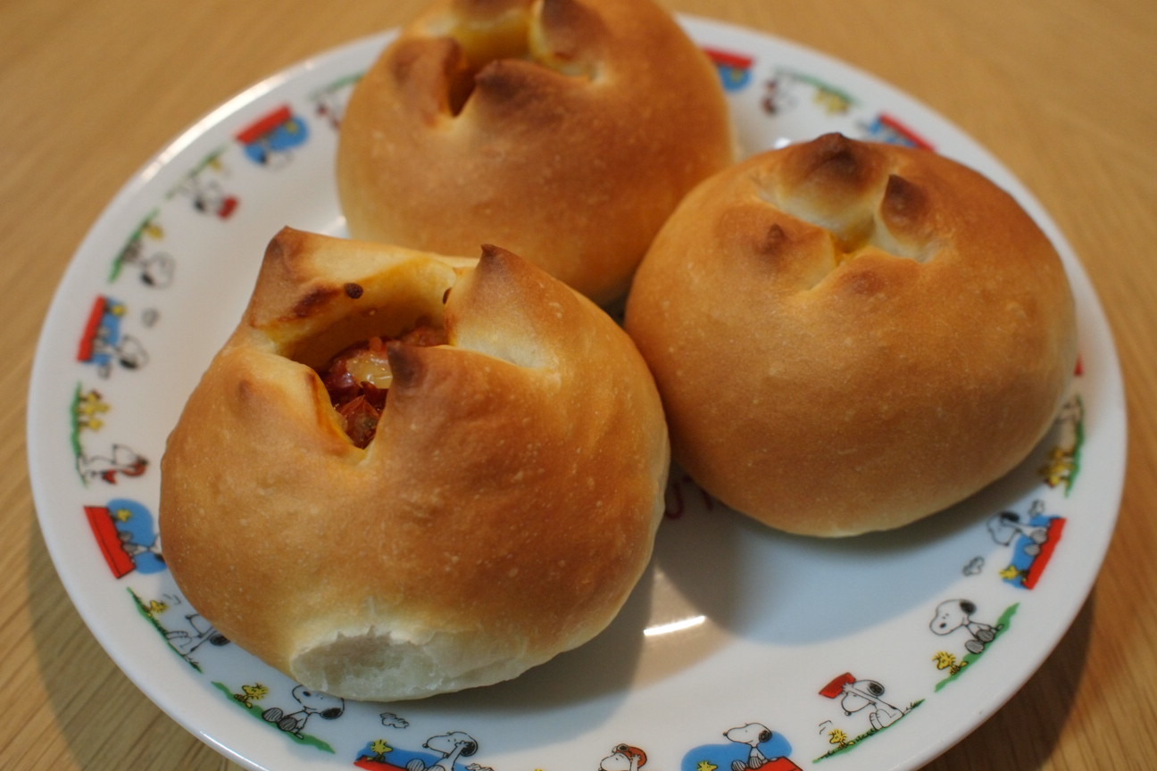 手作りドライトマトパン2