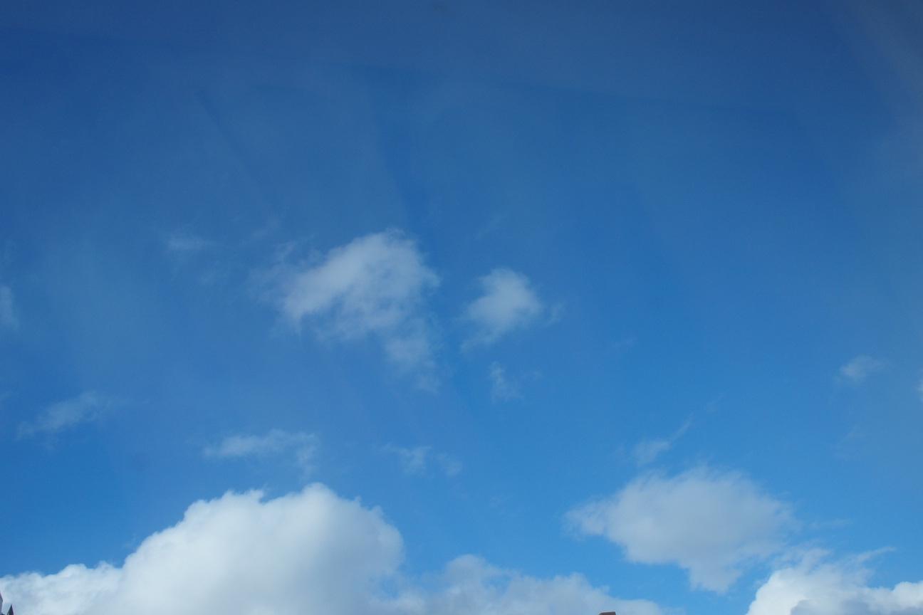 冬の青空!