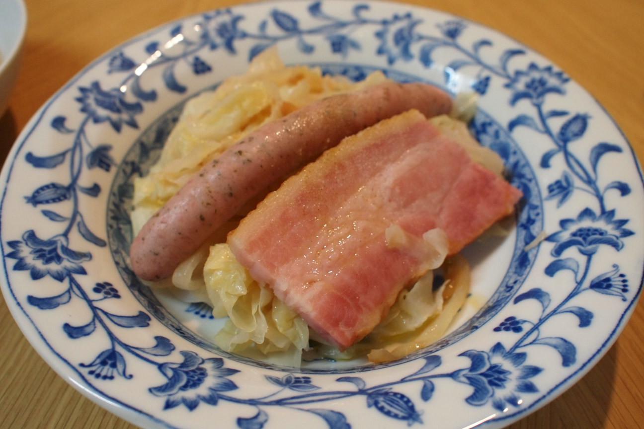 キャベツと玉ねぎの炒め煮!