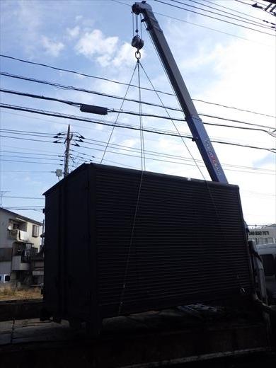 コンテナ設置 (10)