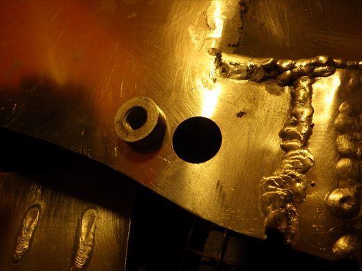ブラストのタンク加工 (1)