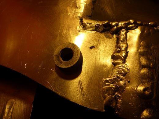 ブラストのタンク加工 (2)
