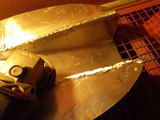 ブラストのタンク加工 (4)