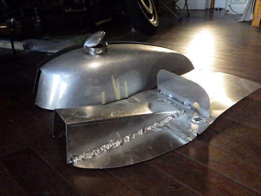ブラストのタンク加工 (16)