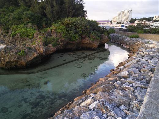 前兼久漁港 釣り場の下見 (2)
