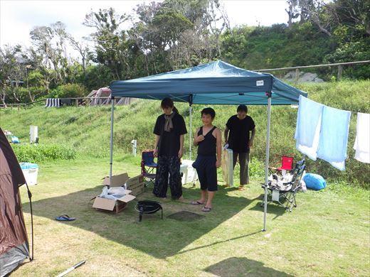 キャンプ翌日の磯遊び (4)