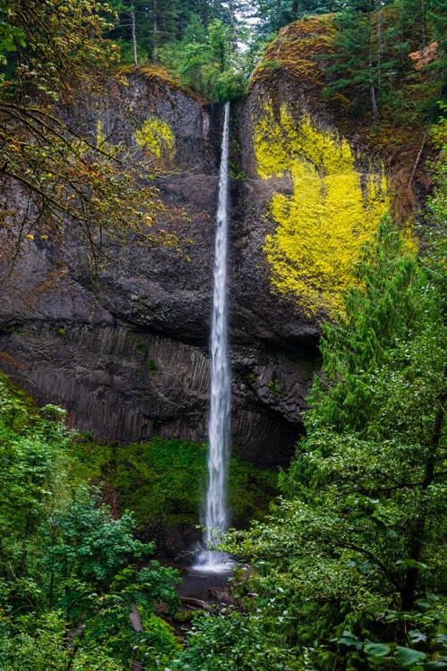 Nikon Z6 ポートランド アメリカ西海岸 コロンビア川 渓谷 滝