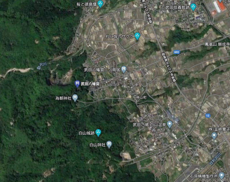 武田八幡宮 Google
