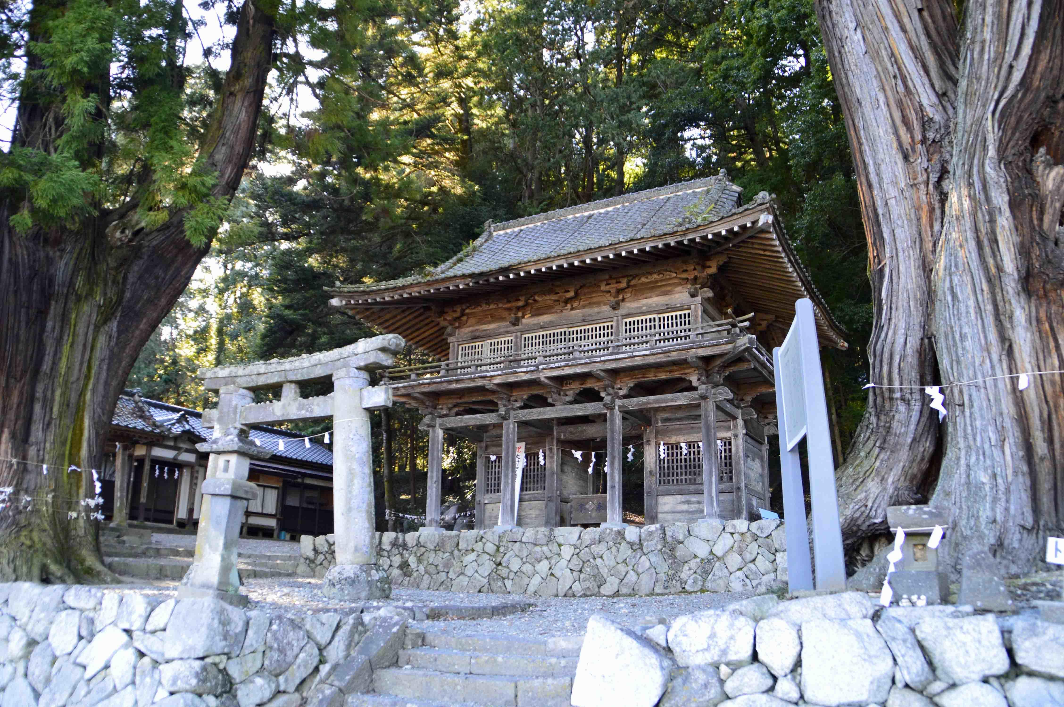 武田神社総門