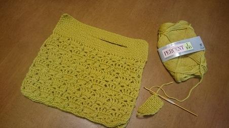 バッグポプコーン編み