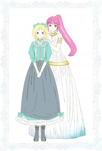 「フローラとキルシ・ドレス案」