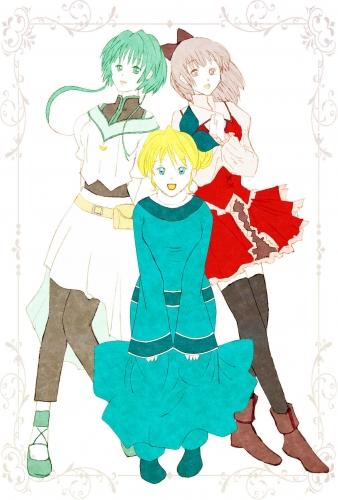 「3人娘」